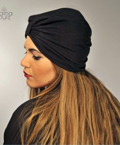 Turban Paina Pulz, Le Casual, noir