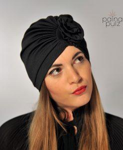 Turban femme Paina Pulz - Paris Le Warda, noir