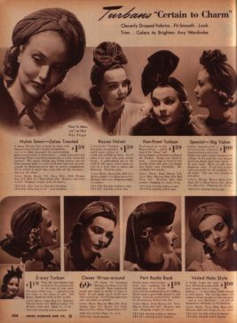 Les turbans : Magazine Sears