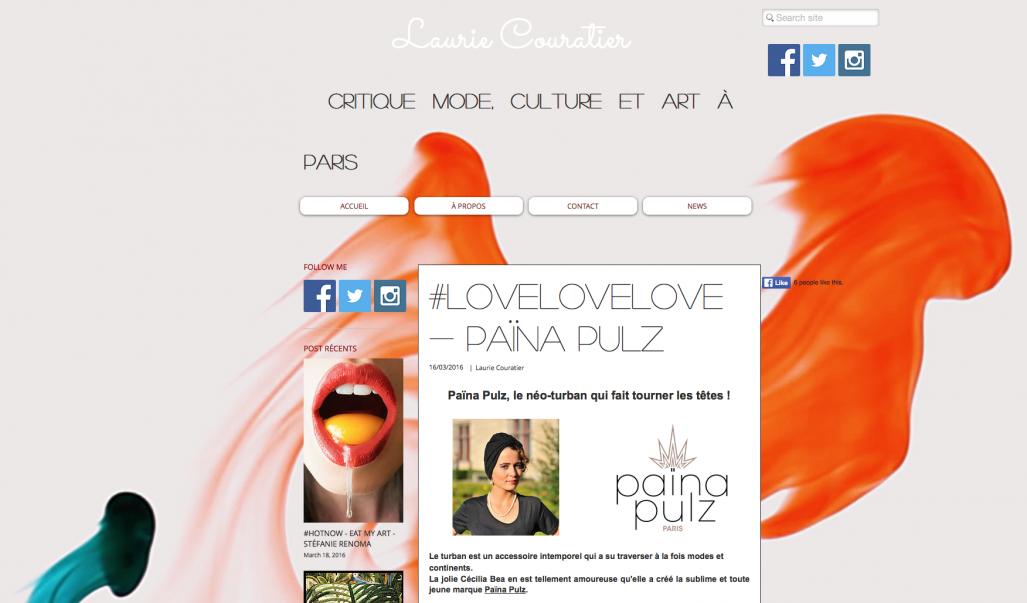 Le blog de Laurie Couratier