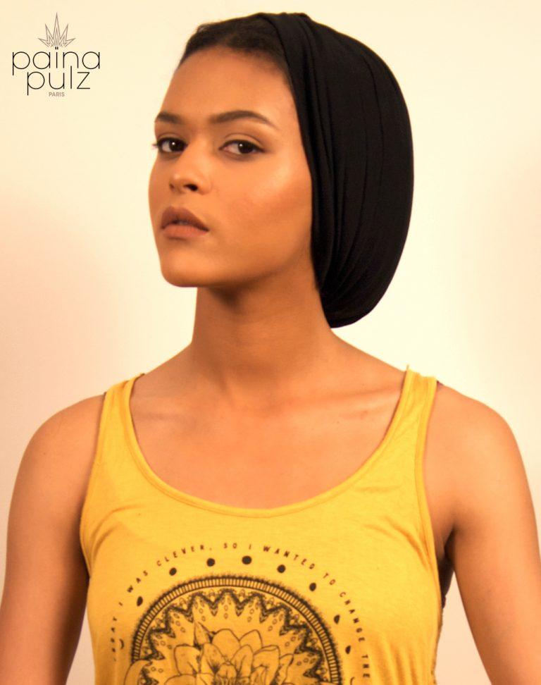 Turban femme Le Big Païna Basic noir