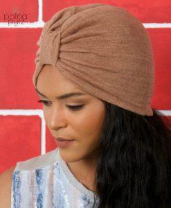 Turban femme Le Casual ambre