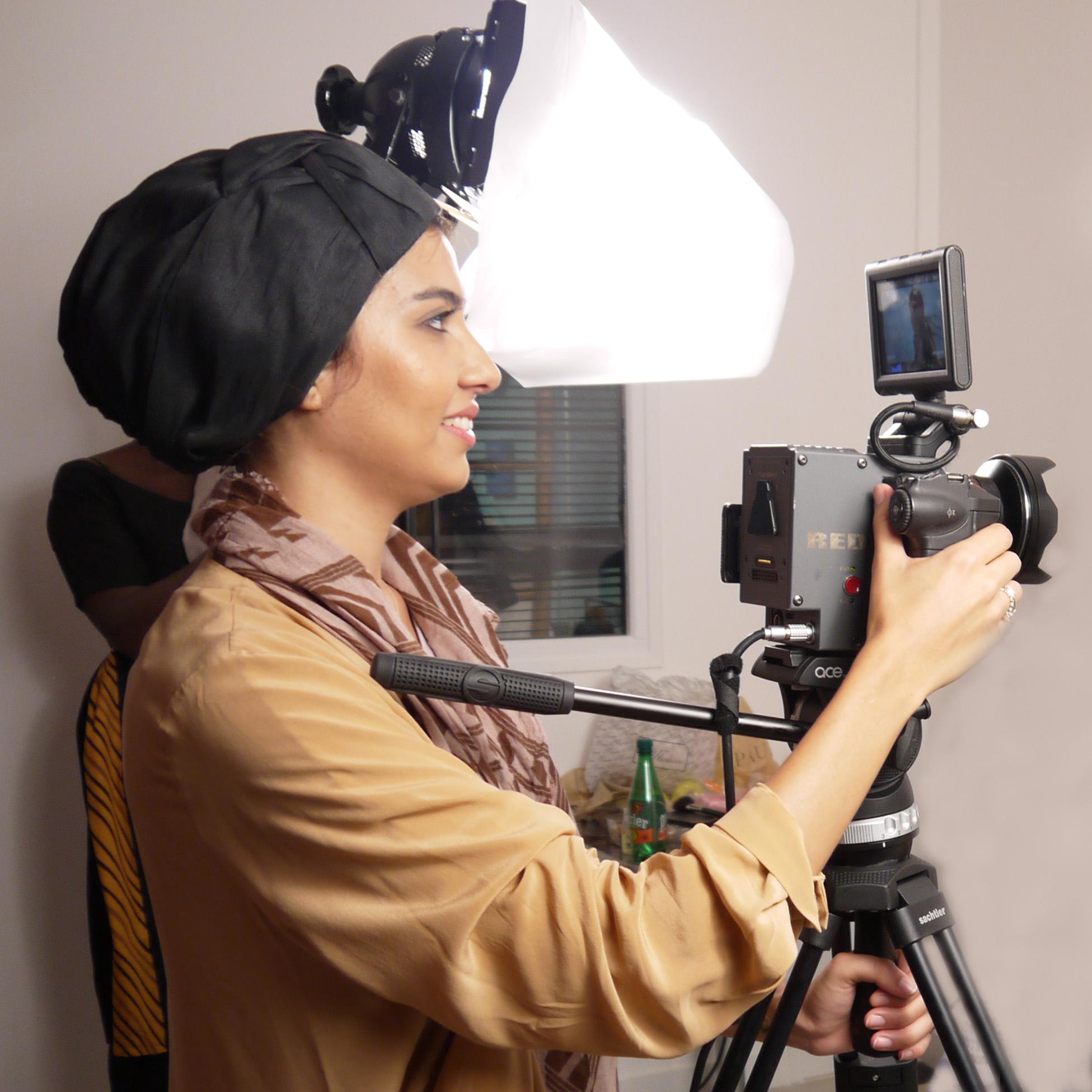 Sonia Aït Bouzid en turban Païna Pulz