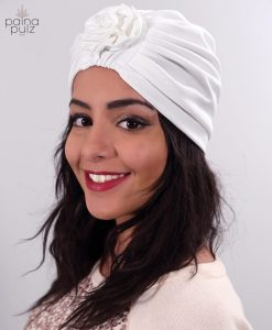 Turban le Warda blanc