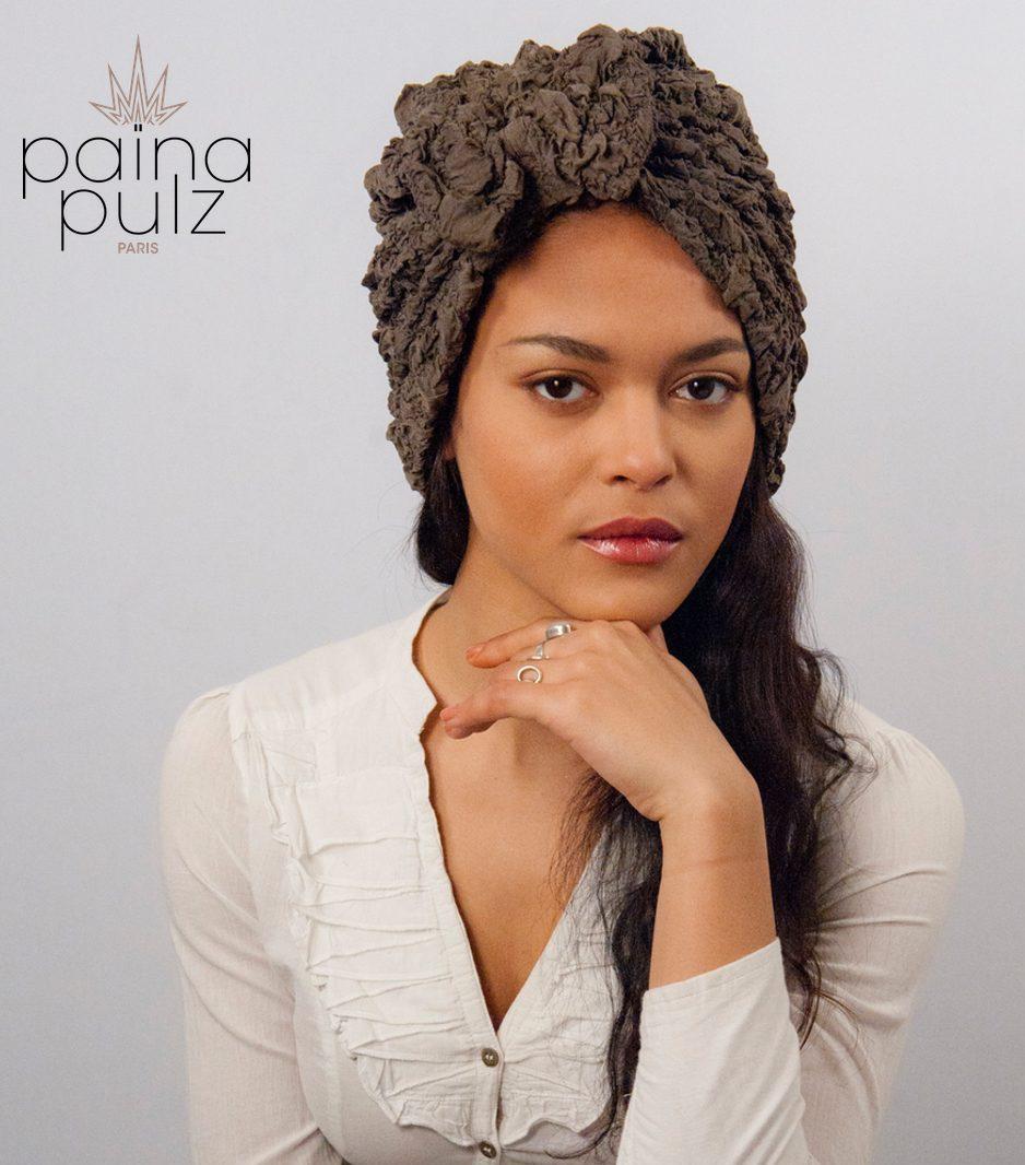 Frou Frou : Craquez pour le turban tout en relief. Soyez différentes!