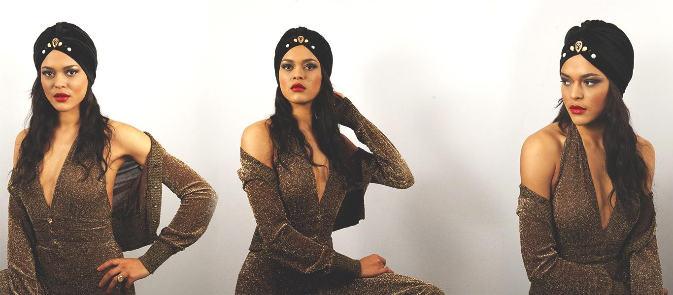 turban-noir-femme-velours-
