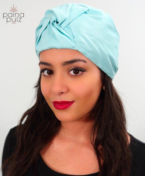 Le Turban Turquoise Pastel