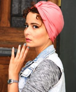 Pinky Pop est le turban qui te rendra fashion et totalement girly !