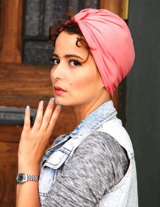 Pinky Pop est le turban qui te rendra fashion et totalement girly !