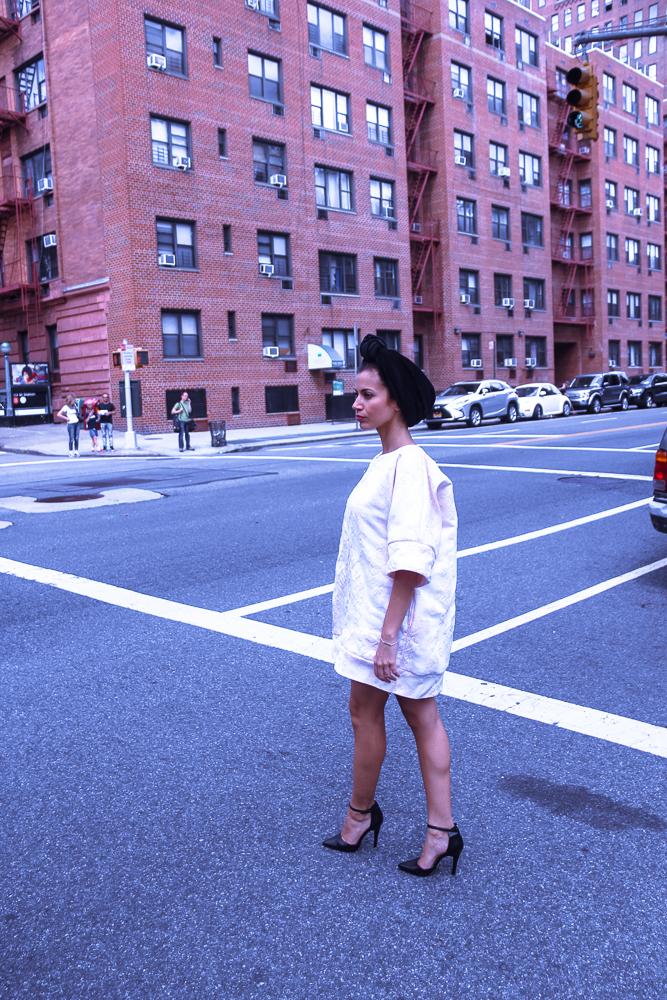 Turban rétro Païna Pulz à New York
