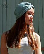 Païnita Amazone, nous avons trouvé le turban qu'il te faut. Le Trendy Amazonite.