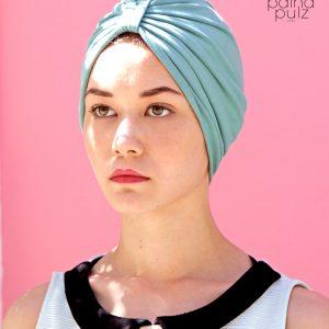 turban trendy turquoise amazonite turban femme