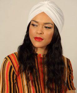 Le Paina Basic Blanc, le turban de votre été