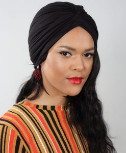 Le Paina Basic Black, le turban incontournable de votre dressing!
