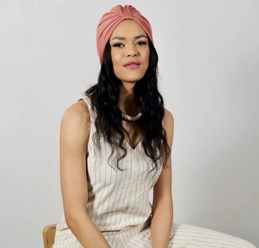 Le Turban Pink Amber, la couleur idéale pour toute