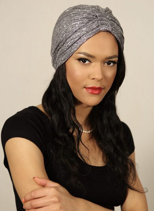 Le Mermaid Silver : le turban indispensable pour vos plus occasions les plus glamours
