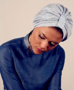 Le Turban Mermaid Blue, brillez par originalité!