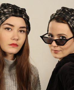 Le turban écossais, optez pour un look bossy!