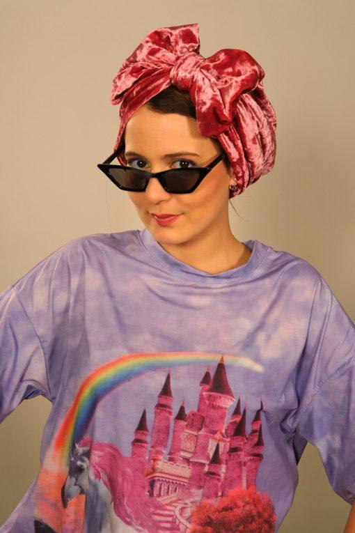 Le turban Pinky, une création unique