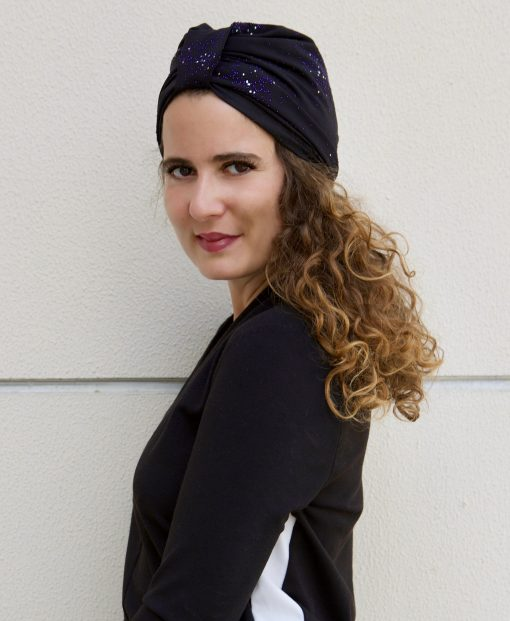 Le Black Purple, un turban original
