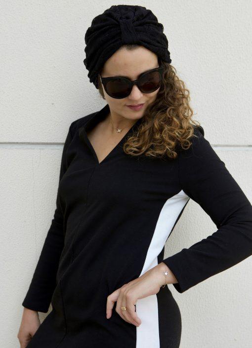 Le BIG Dentelle Noir, l'accessoire cheveux glamour !
